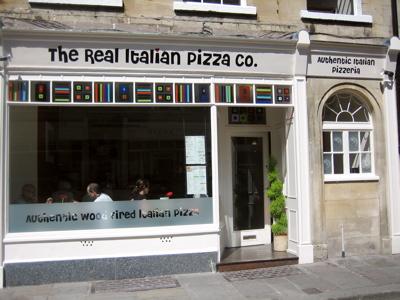 Real Italian Pizza Co., Bath
