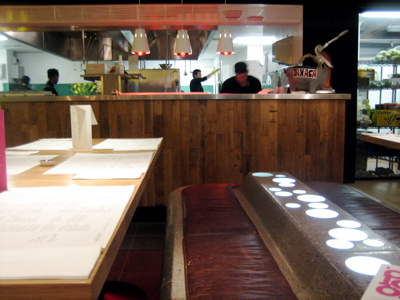 Wahaca restaurant interior, London
