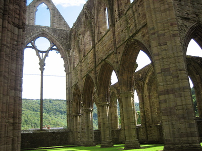 East Nave of Tintern Abbey, Wales