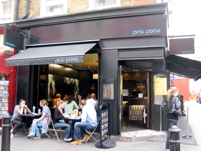 Ping Pong Restaurant, James Street