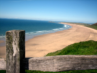 Rhossili Beach, Gower, Wales