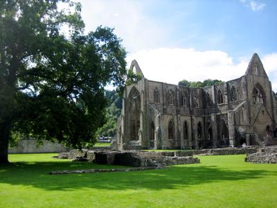 Tintern Abbey, Chepstow, Wales