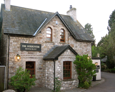 The Foxhunter gastropub, Nantyderry, Wales