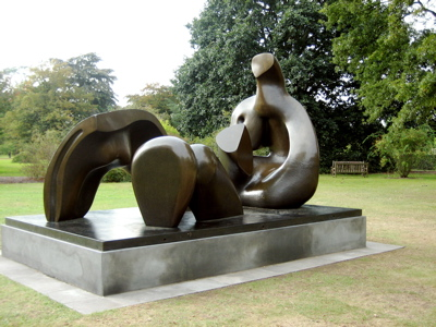 Henry Moore's Three Piece Reclining Figure: Draped