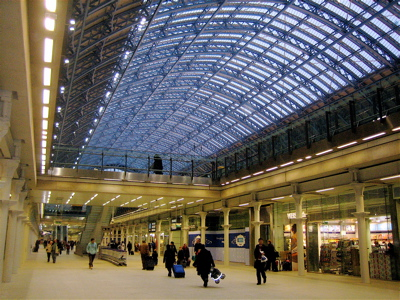 St. Pancras Eurostar terminal, London