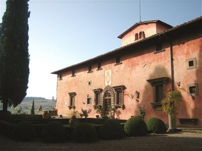 Villa Vignmaggio, Greve in Chianti, Italy