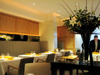 Hibiscus Restaurant interior, Mayfair, London