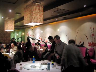 Pearl Liang restaurant interior, Paddington, London