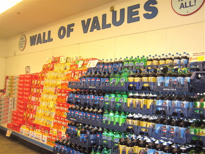 Wall of Values in Norwalk, CT