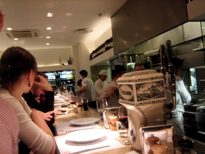 Barrafina restaurant interior