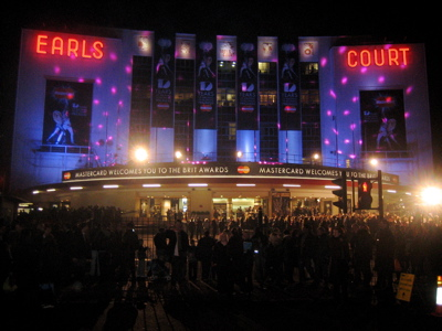 Brit Awards 2008 Earls Court