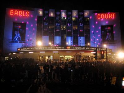 Brit Awards 2008 Earls Court