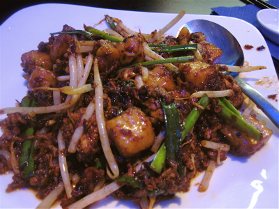 Chye tow kway at Kiasu restaurant