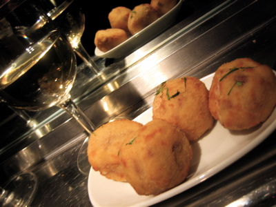 Ham croquettes, Barrafina restaurant, Soho, London