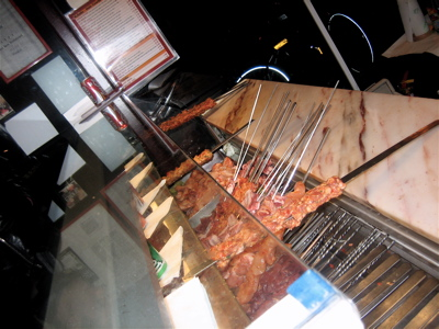 Mangal Ocakbasi meat counter