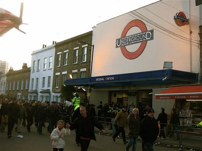 Arsenal Tube Station