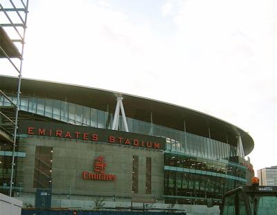New Arsenal Emirates Stadium
