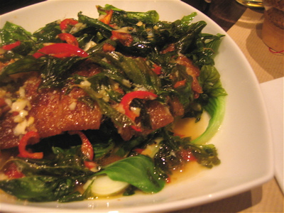 Lacquered duck, Thai style, Lao Lane Xang 2, Paris