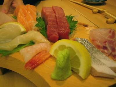 omakase sashimi at Sushi Say