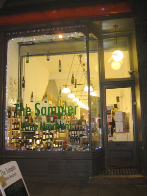 The Sampler Wine Merchant, Islington