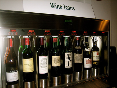 """Wine Icons"" at the Sampler Wine Merchant in Islington"