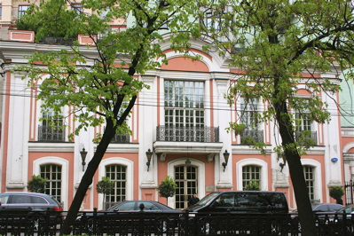 Cafe Pushkin exterior