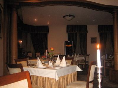 Molokhovets Dream restaurant interior, St. Petersburg