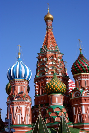 St Basil\'s Cathedral, Red Square, Moscow