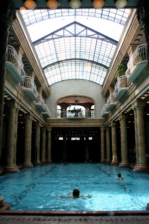 Pool at the Gellert Hotel and Spa, Budapest, Hungary