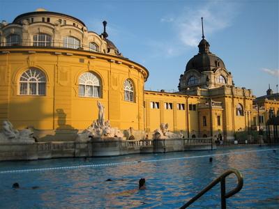 Szechnyi Baths, Budapest