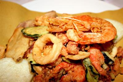 fritto misto at Vecio Fritolin