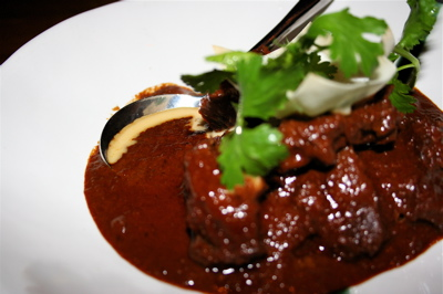 Beef rendang at Awana