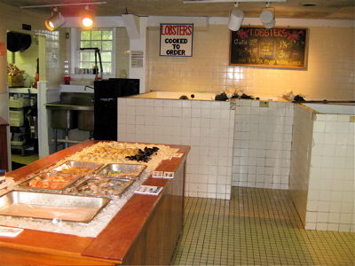 Straight Wharf Fish Store interior