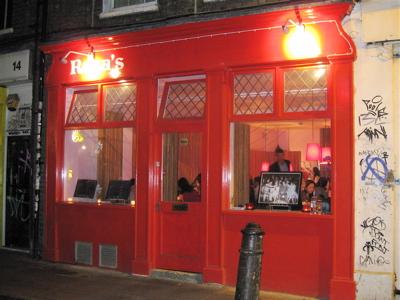 Rosa's Thai restaurant, Spitalfields