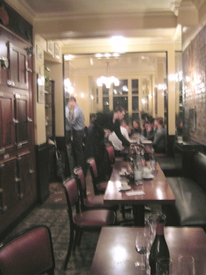 interior of Bistrot Paul Bert
