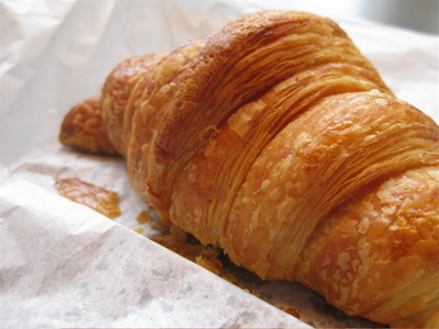 croissant from Eric Kayser boulangerie, 11eme