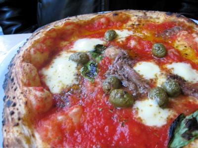 Franco Manca's neapolitan pizza