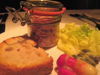 potted ham at Le Cassoulet