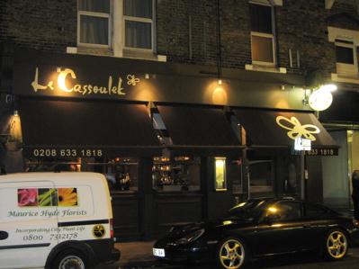 Le Cassoulet, Croydon