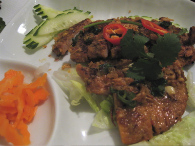 crispy pork at Mien Tay