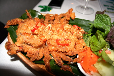 soft shell crab at Mien Tay in July