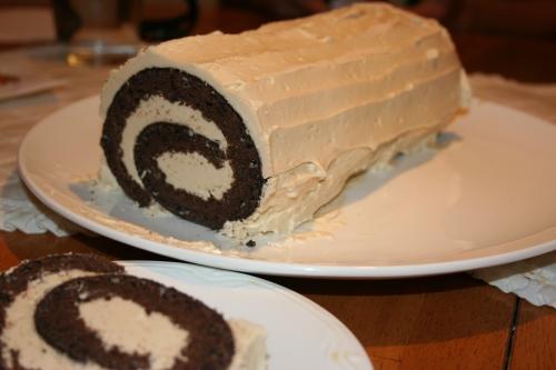 Buche de Noel baked by yours truly