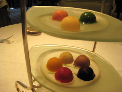 sorbets in a rainbow of colors and flavors