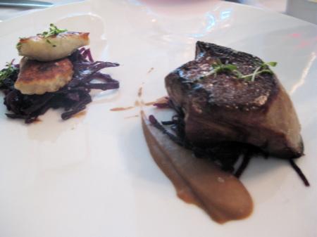 foie gras starter at No. 9 Park
