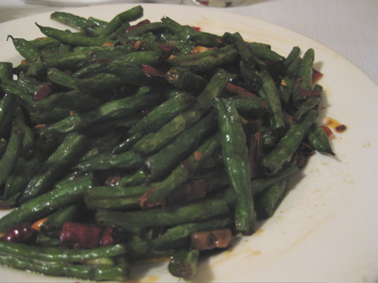 spicy dry-fried string beans