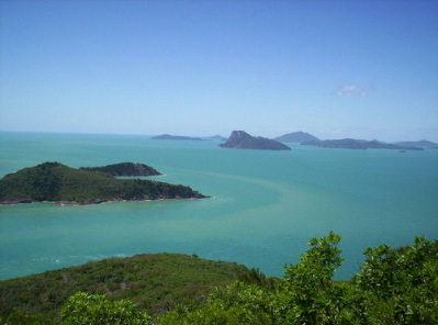 photo of Hamilton Island from hotelchatter.com