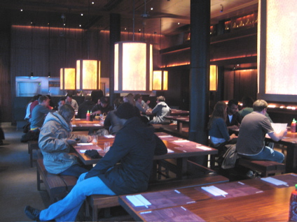 interior of Busaba Eathai