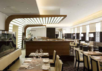 Maze restaurant interior (lifted from the Grosvenor Marriott site)