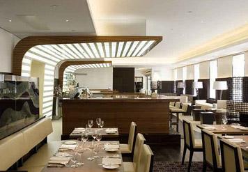 Maze restaurant interior (lifted from the Grosvenor Marriott site)