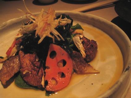 seaweed salad at Sake No Hana